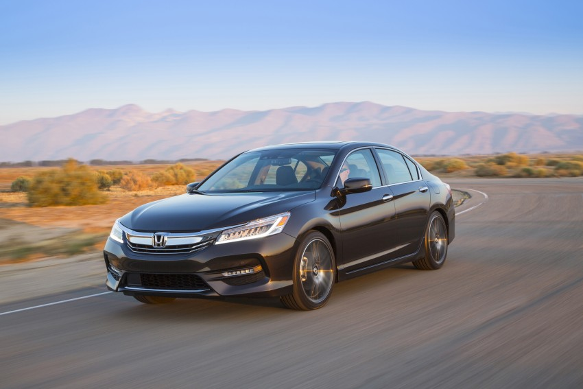 2016 Honda Accord facelift – sedan and coupe models fully revealed in new mega gallery Image #366070