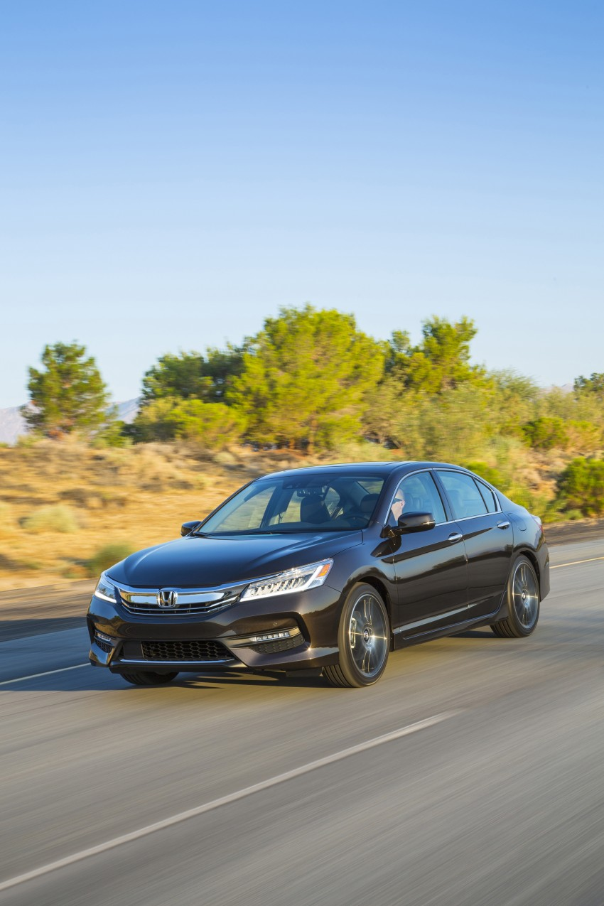 2016 Honda Accord facelift – sedan and coupe models fully revealed in new mega gallery Image #366074