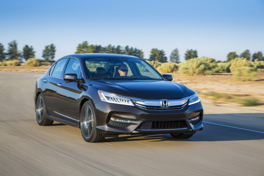2016 Honda Accord facelift – sedan and coupe models fully revealed in new mega gallery Image #366075