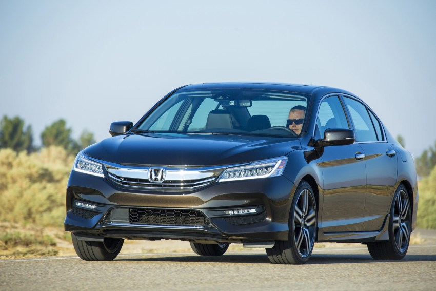 2016 Honda Accord facelift – sedan and coupe models fully revealed in new mega gallery Image #366077