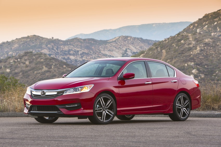 2016 Honda Accord facelift – sedan and coupe models fully revealed in new mega gallery Image #366206