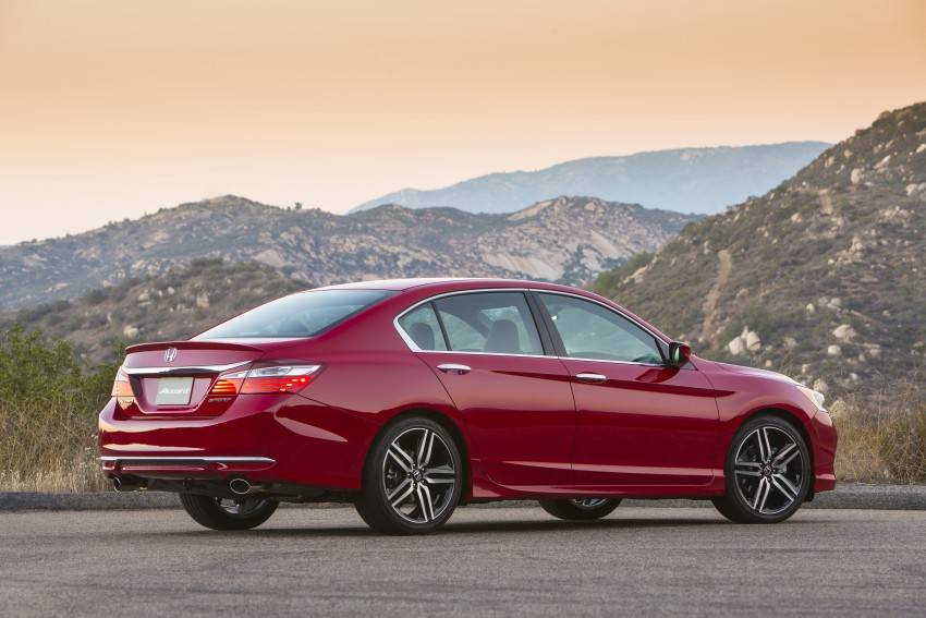 2016 Honda Accord facelift – sedan and coupe models fully revealed in new mega gallery Image #366080