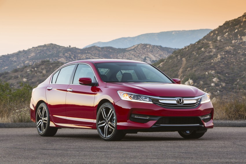 2016 Honda Accord facelift – sedan and coupe models fully revealed in new mega gallery Image #366081
