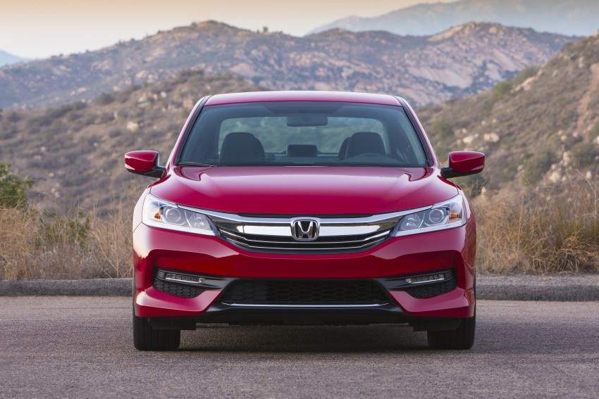 2016 Honda Accord facelift – sedan and coupe models fully revealed in new mega gallery Image #366082