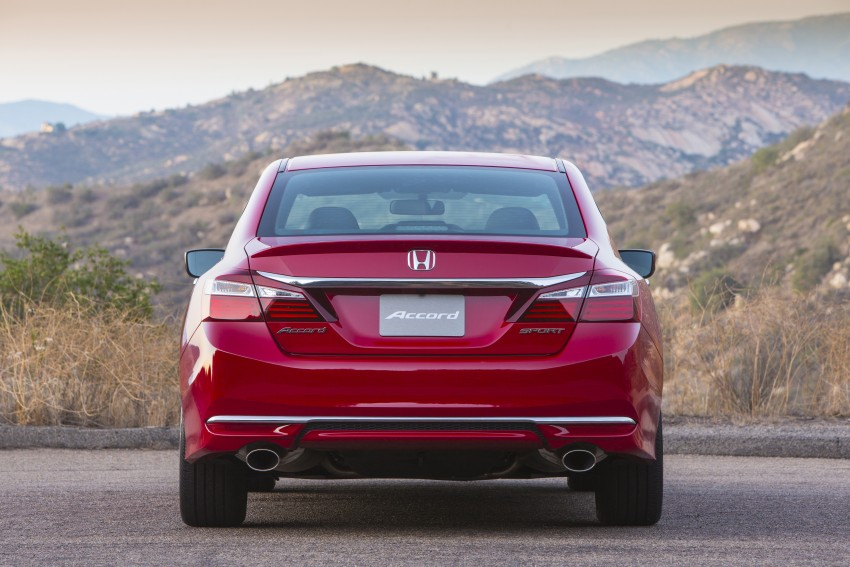 2016 Honda Accord facelift – sedan and coupe models fully revealed in new mega gallery Image #366208