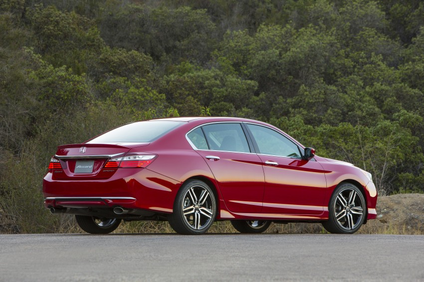 2016 Honda Accord facelift – sedan and coupe models fully revealed in new mega gallery Image #366084