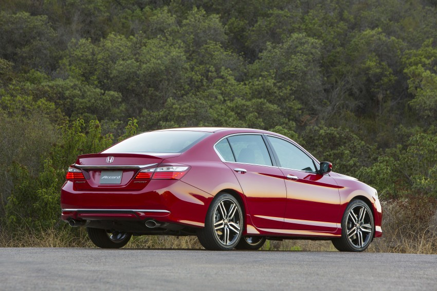 2016 Honda Accord facelift – sedan and coupe models fully revealed in new mega gallery Image #366085