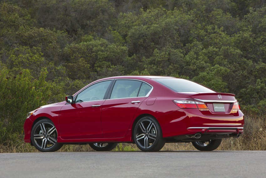 2016 Honda Accord facelift – sedan and coupe models fully revealed in new mega gallery Image #366087