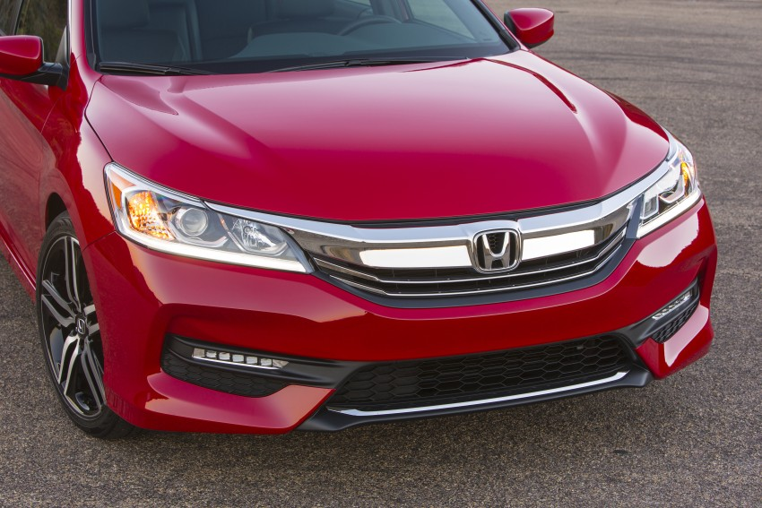2016 Honda Accord facelift – sedan and coupe models fully revealed in new mega gallery Image #366088
