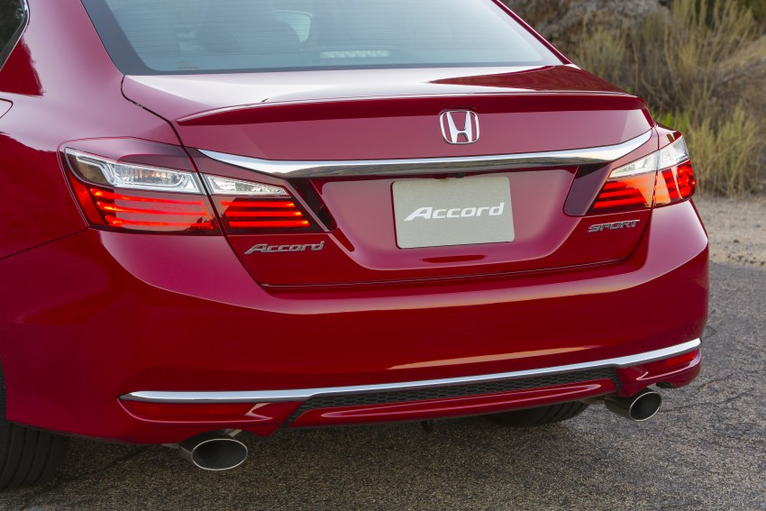 2016 Honda Accord facelift – sedan and coupe models fully revealed in new mega gallery Image #366089