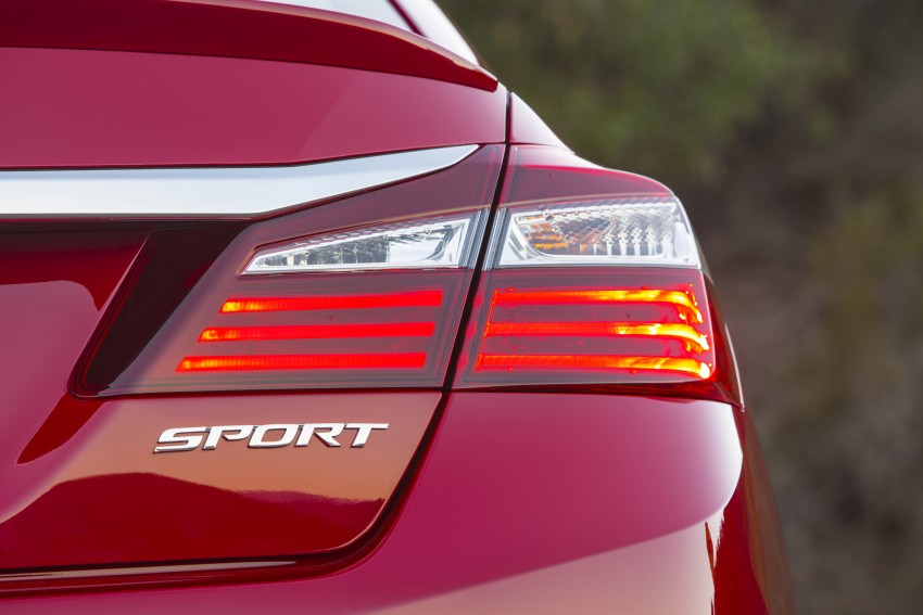 2016 Honda Accord facelift – sedan and coupe models fully revealed in new mega gallery Image #366092
