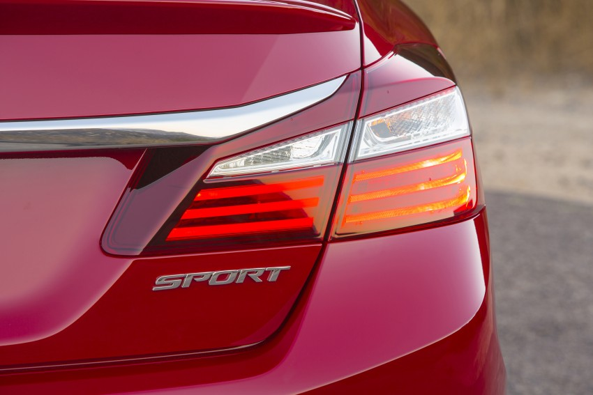 2016 Honda Accord facelift – sedan and coupe models fully revealed in new mega gallery Image #366093