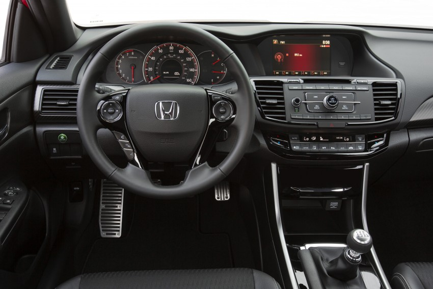 2016 Honda Accord facelift – sedan and coupe models fully revealed in new mega gallery Image #366100