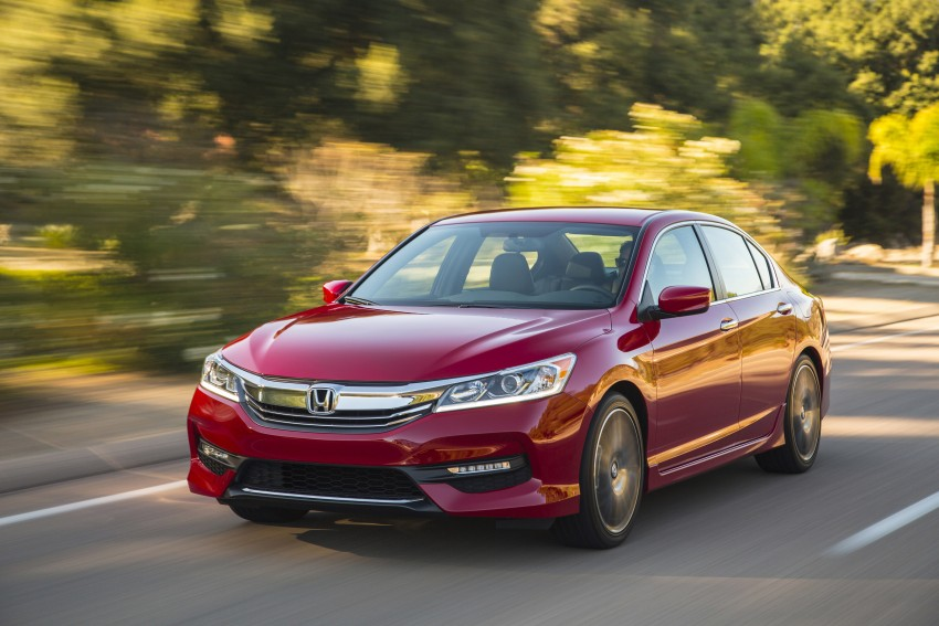 2016 Honda Accord facelift – sedan and coupe models fully revealed in new mega gallery Image #366212