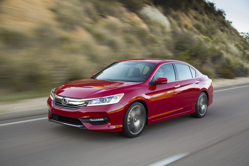2016 Honda Accord facelift – sedan and coupe models fully revealed in new mega gallery Image #366107
