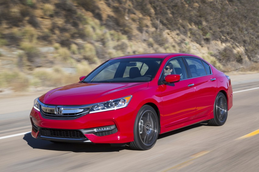 2016 Honda Accord facelift – sedan and coupe models fully revealed in new mega gallery Image #366108