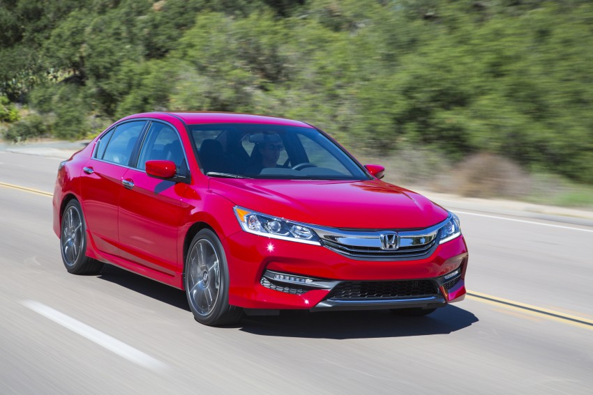 2016 Honda Accord facelift – sedan and coupe models fully revealed in new mega gallery Image #366214