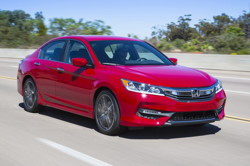 2016 Honda Accord facelift – sedan and coupe models fully revealed in new mega gallery Image #366109