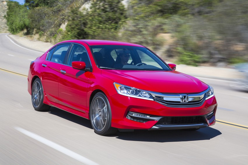 2016 Honda Accord facelift – sedan and coupe models fully revealed in new mega gallery Image #366110