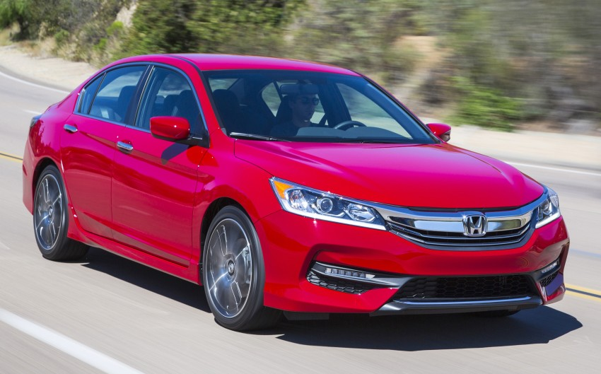 2016 Honda Accord facelift – sedan and coupe models fully revealed in new mega gallery Image #366215