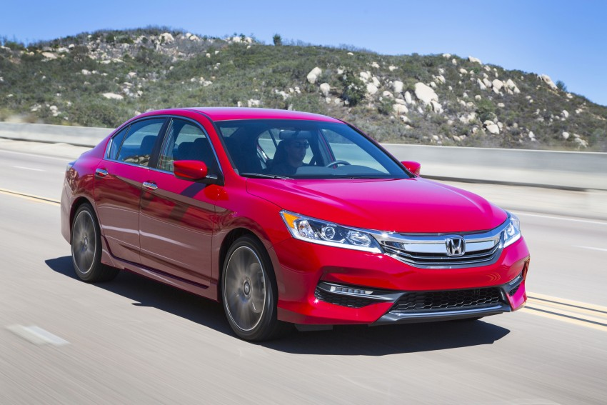 2016 Honda Accord facelift – sedan and coupe models fully revealed in new mega gallery Image #366111