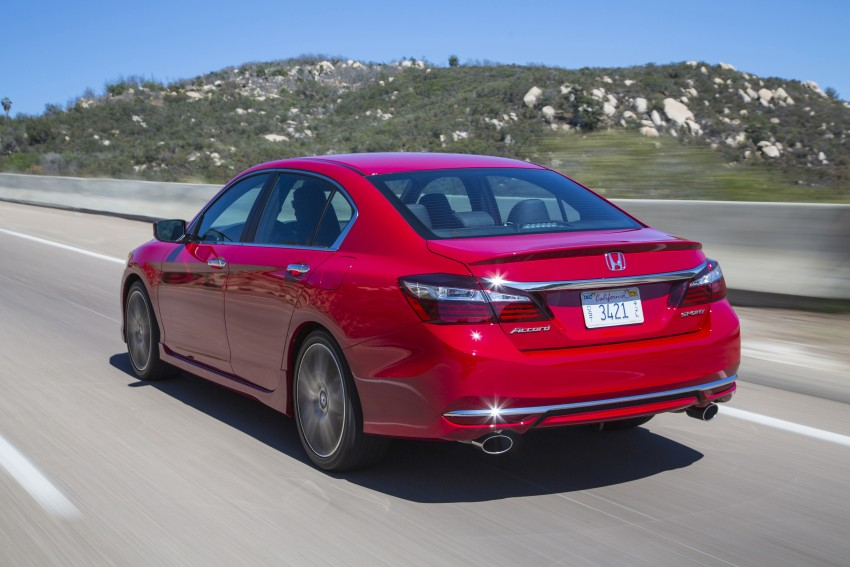 2016 Honda Accord facelift – sedan and coupe models fully revealed in new mega gallery Image #366112