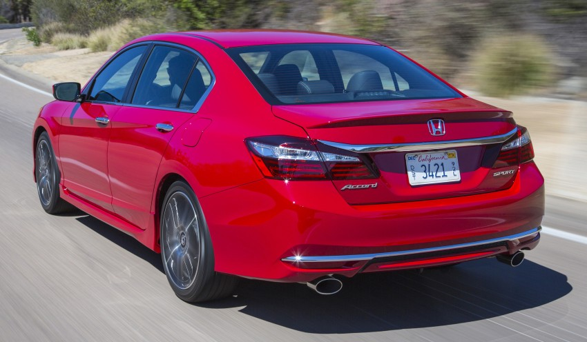 2016 Honda Accord facelift – sedan and coupe models fully revealed in new mega gallery Image #366113