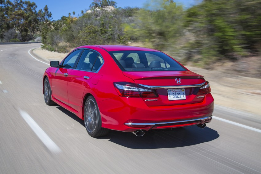 2016 Honda Accord facelift – sedan and coupe models fully revealed in new mega gallery Image #366114