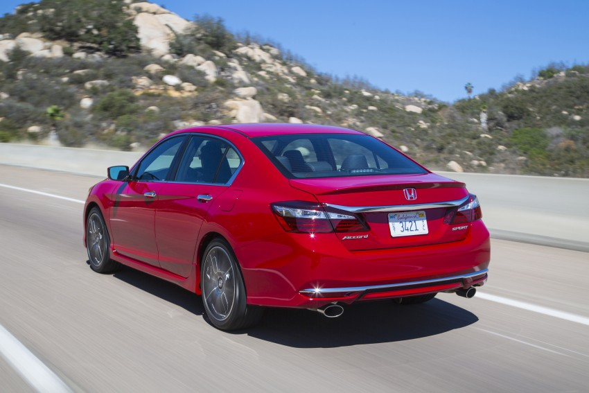 2016 Honda Accord facelift – sedan and coupe models fully revealed in new mega gallery Image #366115