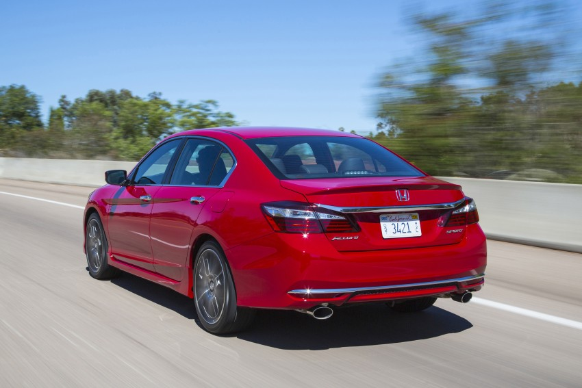 2016 Honda Accord facelift – sedan and coupe models fully revealed in new mega gallery Image #366217