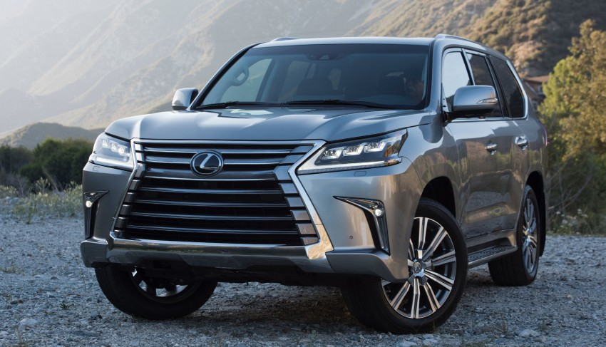 2016 Lexus LX facelift gets a host of tech updates Image #367543