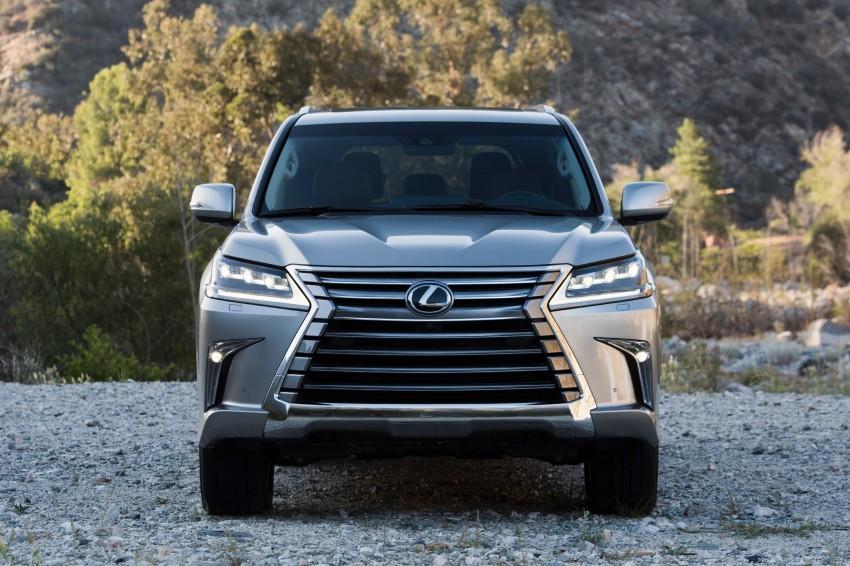 2016 Lexus LX facelift gets a host of tech updates Image #367540