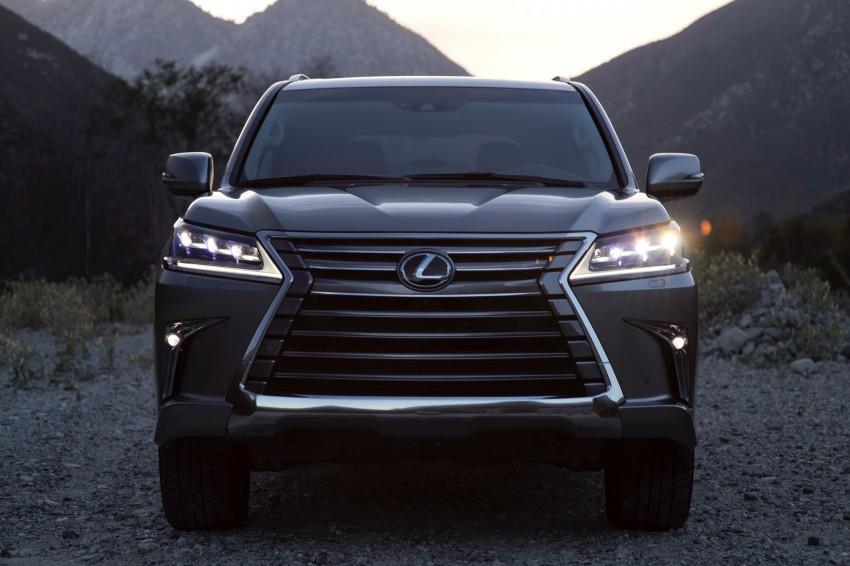 2016 Lexus LX facelift gets a host of tech updates Image #367537