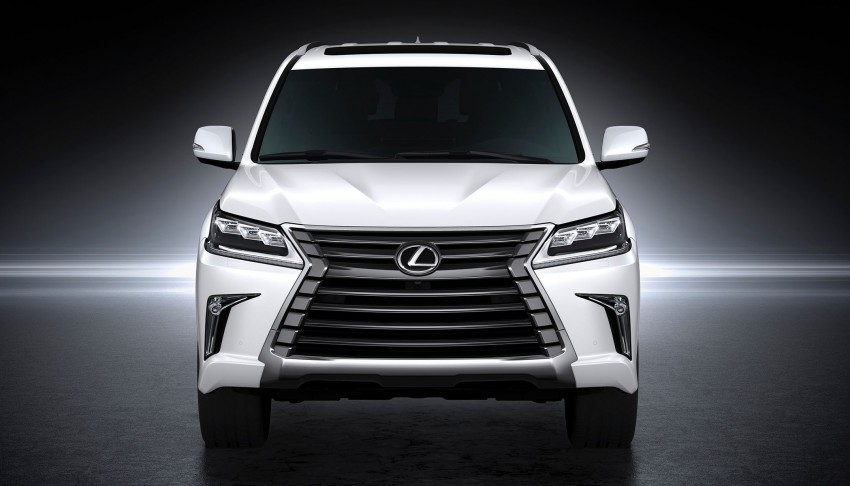2016 Lexus LX facelift gets a host of tech updates Image #367530