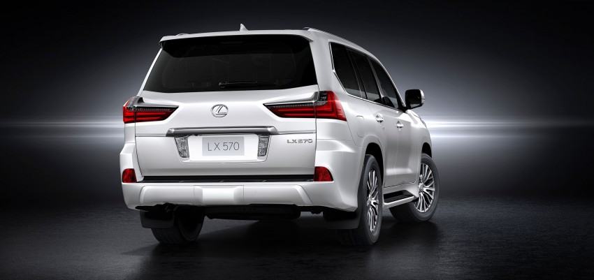 2016 Lexus LX facelift gets a host of tech updates Image #367526