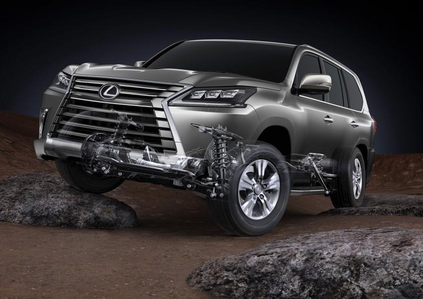 2016 Lexus LX facelift gets a host of tech updates Image #367525