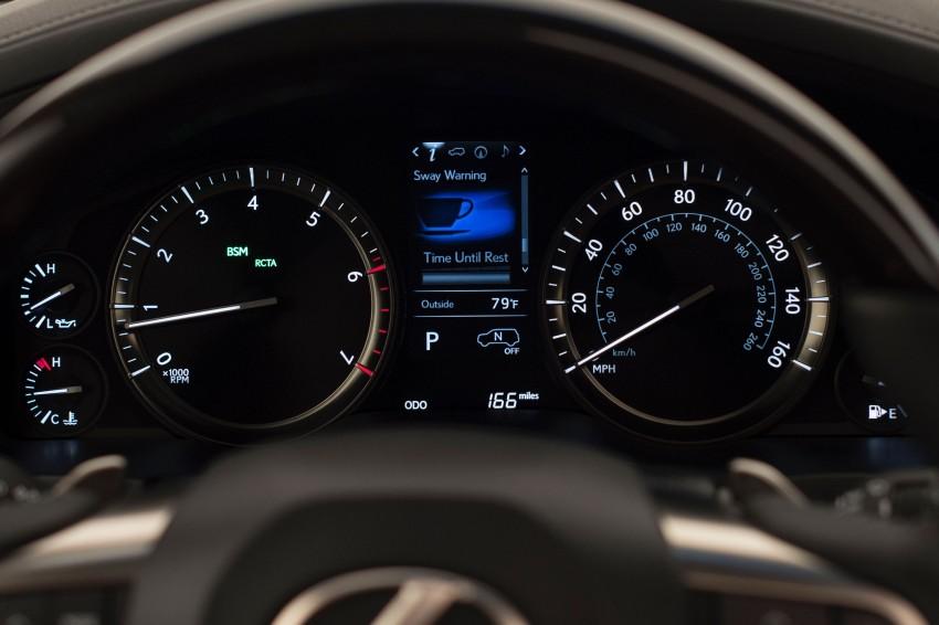 2016 Lexus LX facelift gets a host of tech updates Image #367500
