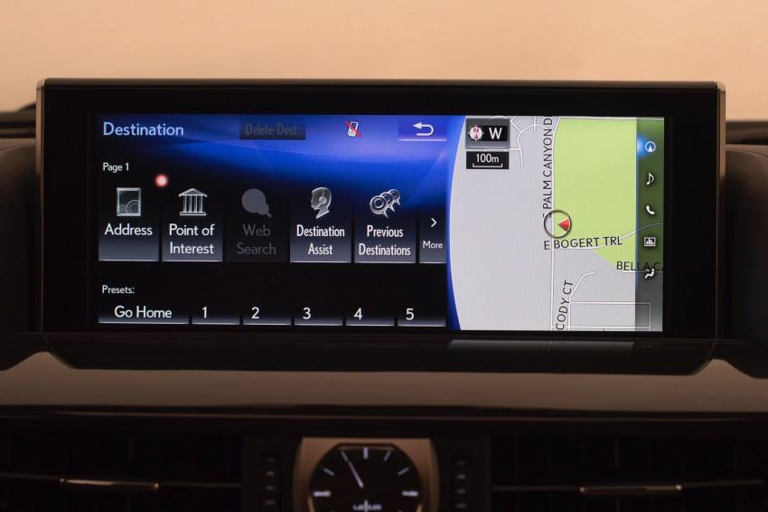 2016 Lexus LX facelift gets a host of tech updates Image #367485