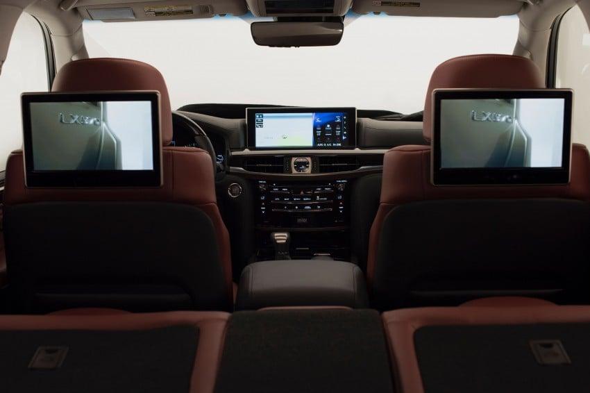 2016 Lexus LX facelift gets a host of tech updates Image #367474