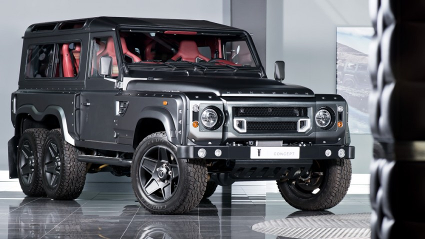 Kahn Flying Huntsman 6×6 priced at £200k (RM1.2mil) Image #364326