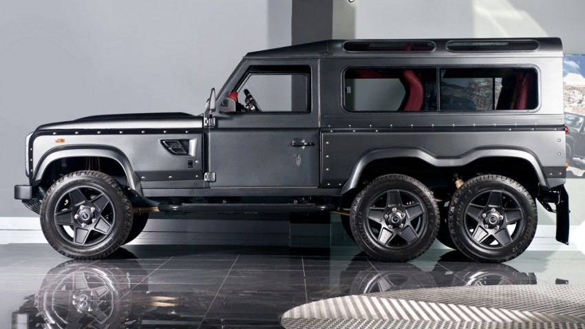 Kahn Flying Huntsman 6×6 priced at £200k (RM1.2mil) Image #364327