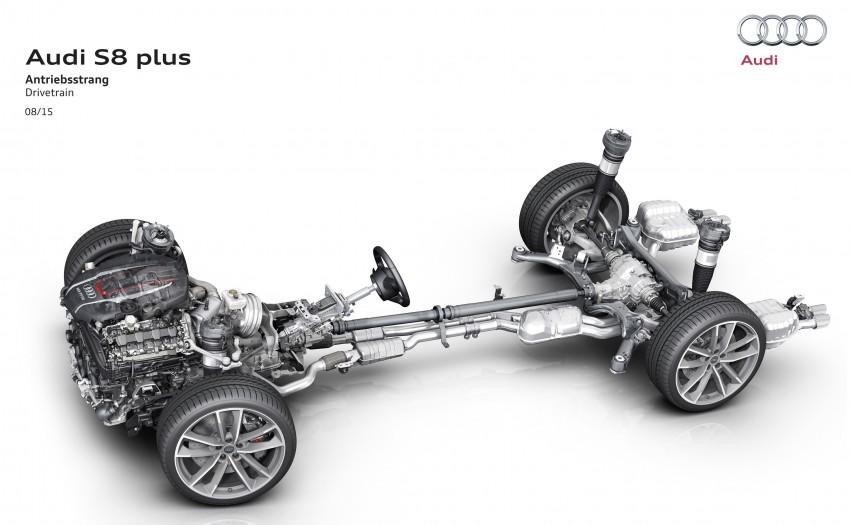 Audi S8 plus – 605 hp, 3.8 sec, 305 km/h transporter Image #364538