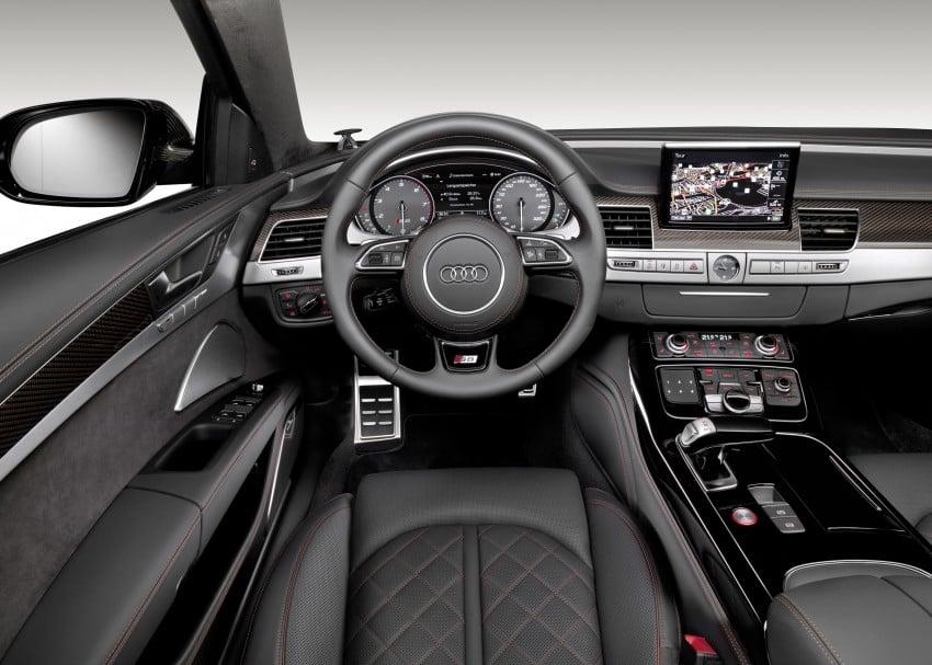 Audi S8 plus – 605 hp, 3.8 sec, 305 km/h transporter Image #364541