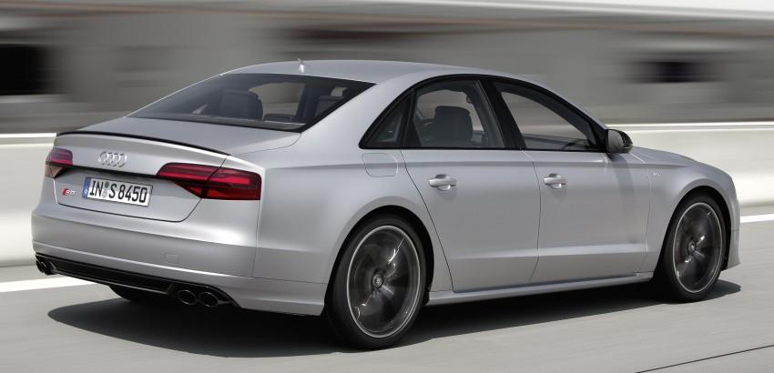 Audi S8 plus – 605 hp, 3.8 sec, 305 km/h transporter Image #364563