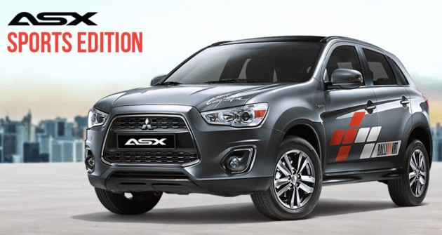 Mitsubishi ASX Sports Edition - 60 units, same price