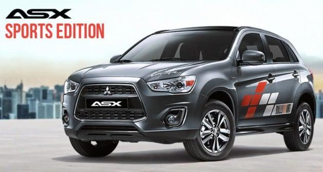 Mitsubishi ASX Sports Edition - 60 units, same price
