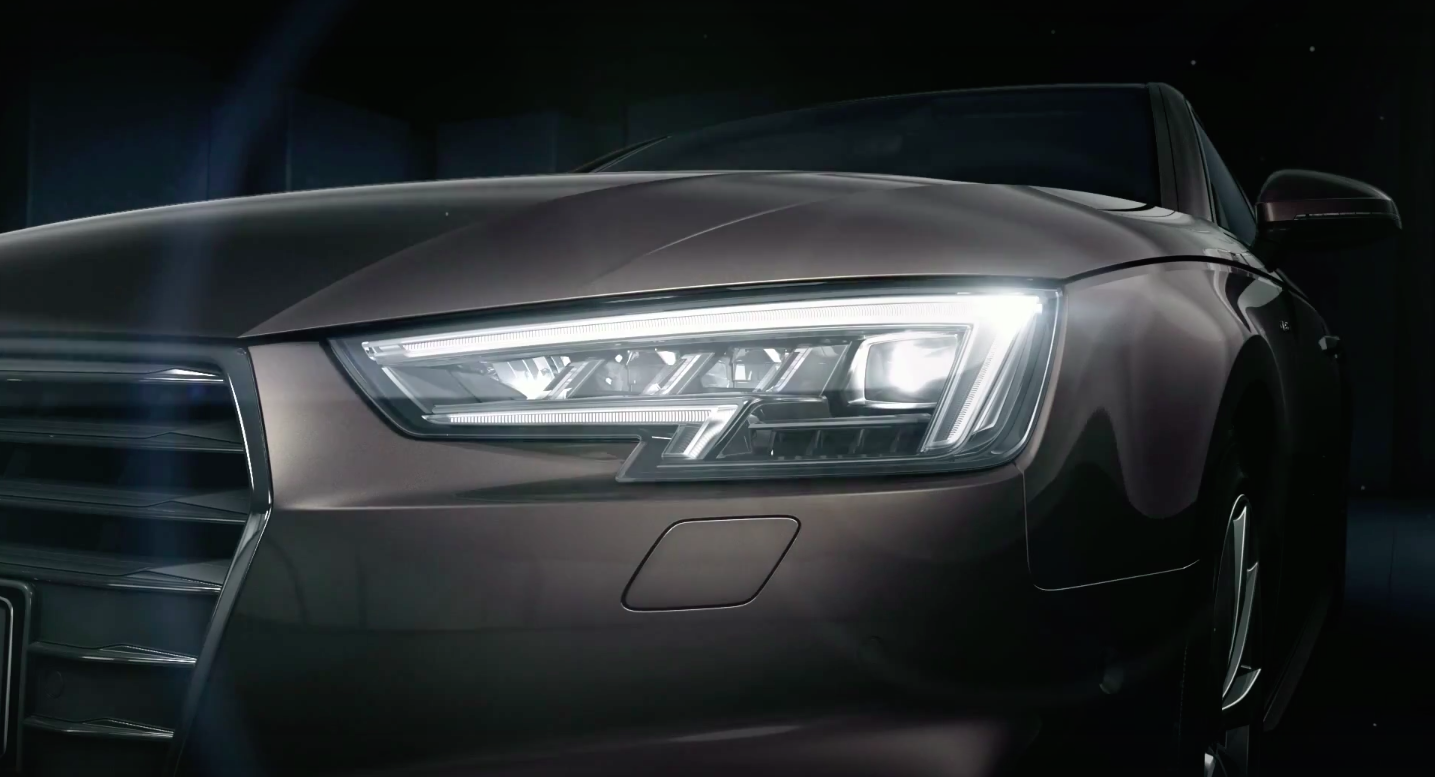 Video Audi A4 Matrix Led Headlights Option In Action