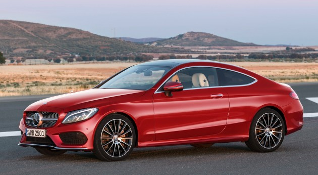2016 mercedes benz c class coupe finally revealed. Black Bedroom Furniture Sets. Home Design Ideas
