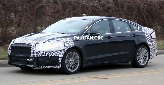 Ford Fusion and Mondeo Facelift 004