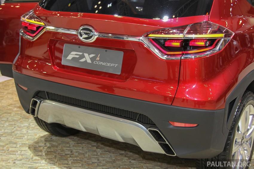 GIIAS 2015: Daihatsu FX Concept compact SUV unveiled – a possible Honda HR-V rival? Image #369459